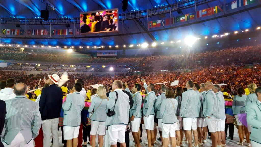 Opening Ceremony in Rio